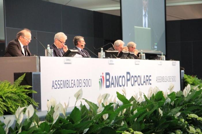 Assemblea del Banco Popolare: la fotogallery