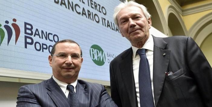 Banco Popolare e BPM: manca solo il nome alla fusione