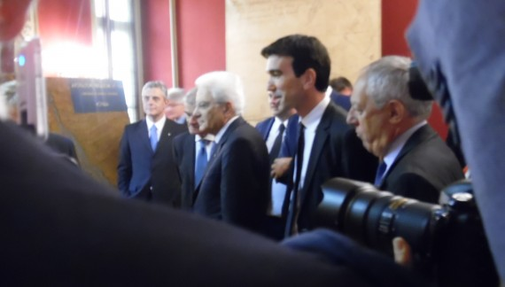 Ovest Sesia, Cavour e Mattarella: la storia passa due volte (fotogallery)