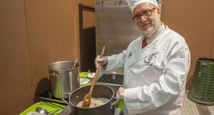 Festival del risotto con il cronista della gastronomia