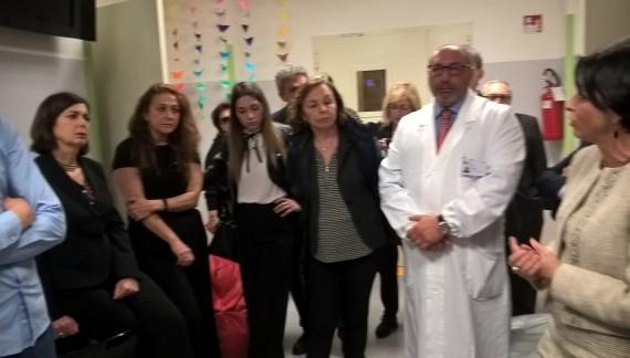 Laura Boldrini nella Casa che combatte il cyberbullismo (fotogallery)