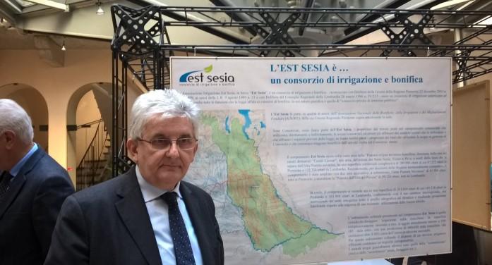 Premio Città di Novara a Est Sesia nel 150° del canale Cavour