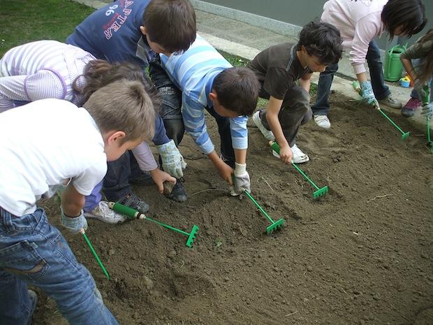 Elogio dell'orto, laboratorio vivente per la scuola