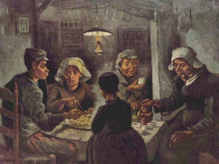 Quelli del foraging, eredi dei mangiatori di patate di van Gogh