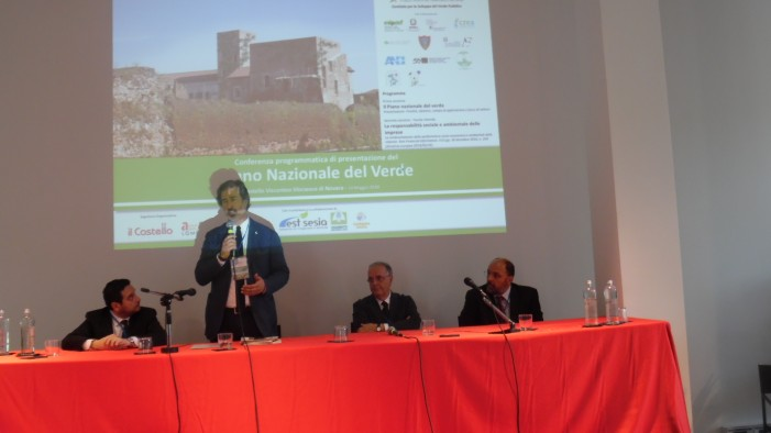 Novara dà il via al Piano Nazionale del Verde (photogallery)