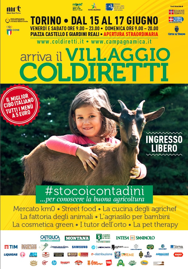 La campagna invade Torino, tre giorni nel Villaggio Coldiretti