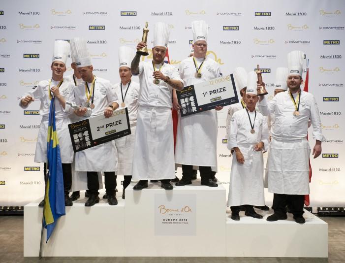 Norvegia vince il Bocuse, in finale anche l'Italia (photogallery)