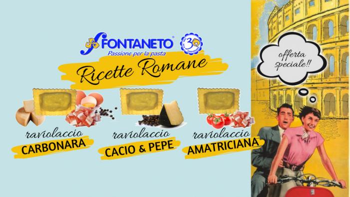Ricette romane, fascino della Vespa e dei ravioli