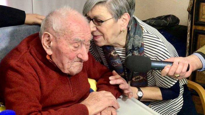 """Addio a nonno Ernesto, il """"cavalant"""". Aveva 110 anni, il più anziano d'Italia"""