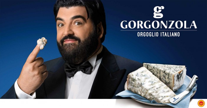 Gorgonzola on air con Cannavacciuolo