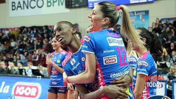 Igor Volley Novara, Coppa Italia portata a casa