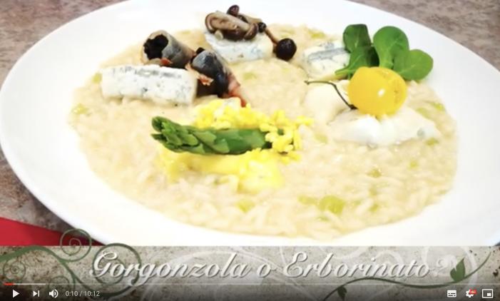 Erborinato o gorgonzola? Questo è il risotto!