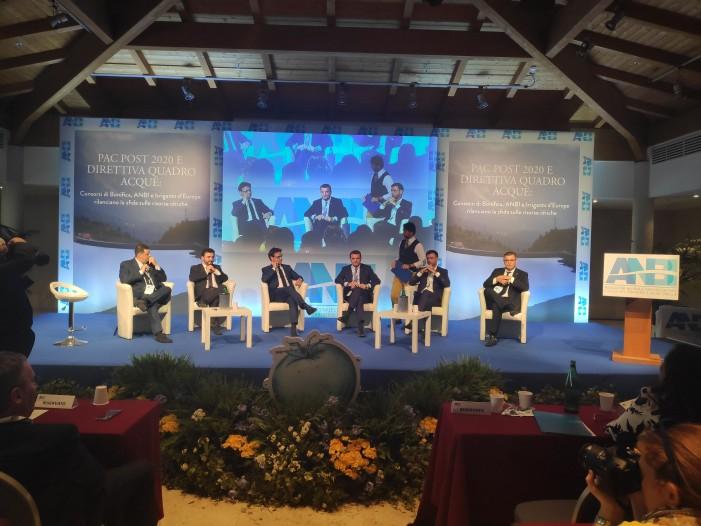 Assemblea Anbi: Pac, difesa del territorio, e risorse idriche obiettivi strategici
