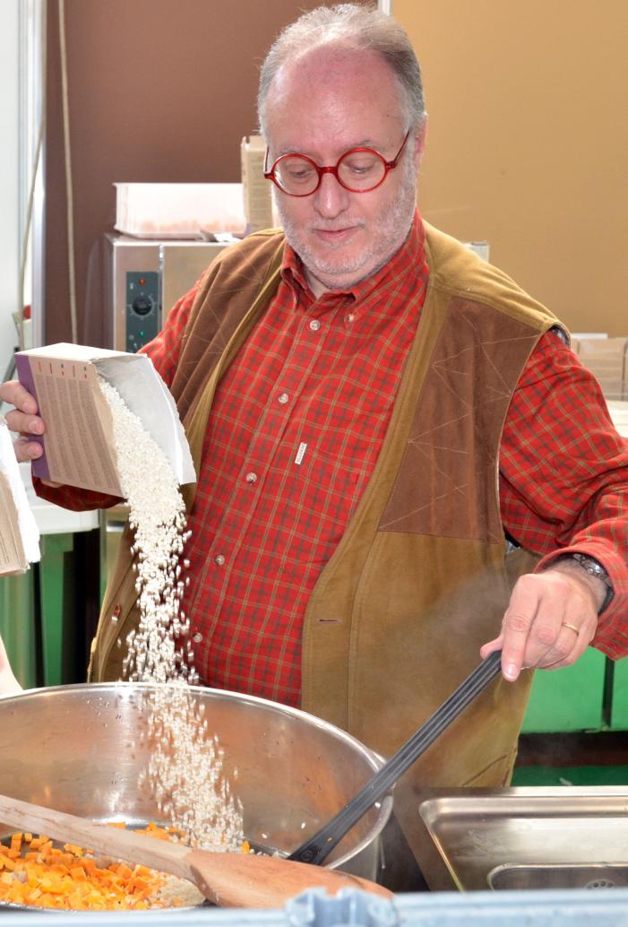 Al carosello del risotto italiano