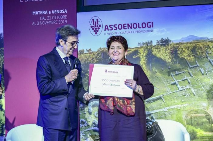 Assoenologi, Il vino è cultura: un omaggio a Matera