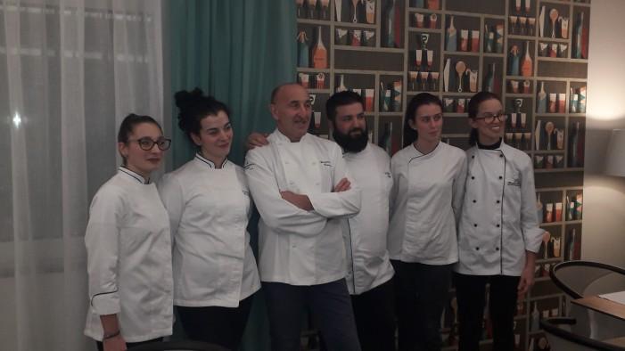 Il ritorno a casa di Gianpiero, chef dell'Osteria Contemporanea