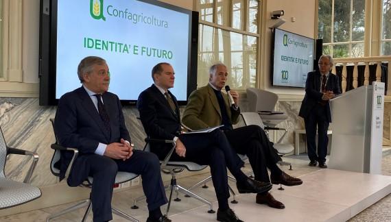 Confagricoltura, 100 anni e ora la sfida della sostenibilità ambientale