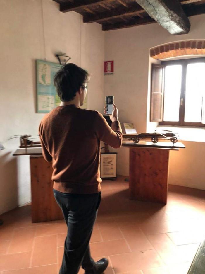 Immersione virtuale al Mulino tra le macchine di Leonardo