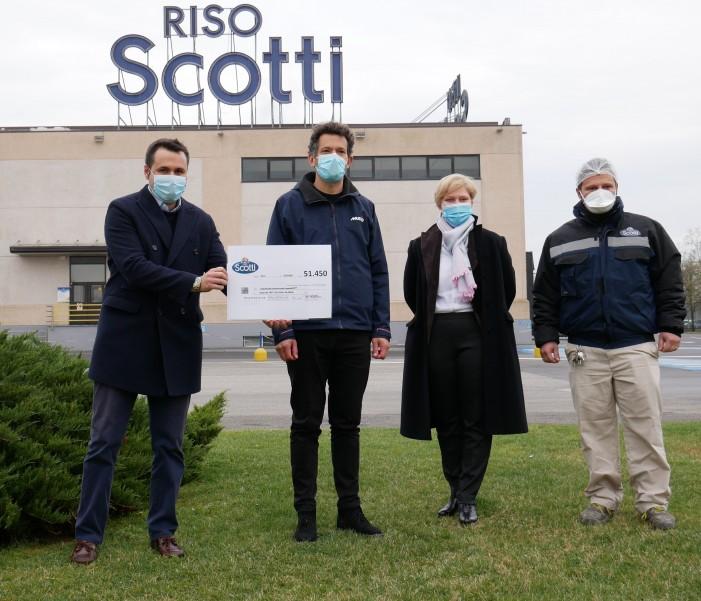 Un'ora per la vita dei dipendenti Scotti: 51 mila euro, 5 ventilatori polmonari