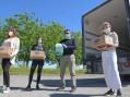 Lo slancio dei dipendenti Scotti: 20 mila pasti a base di riso alla Caritas