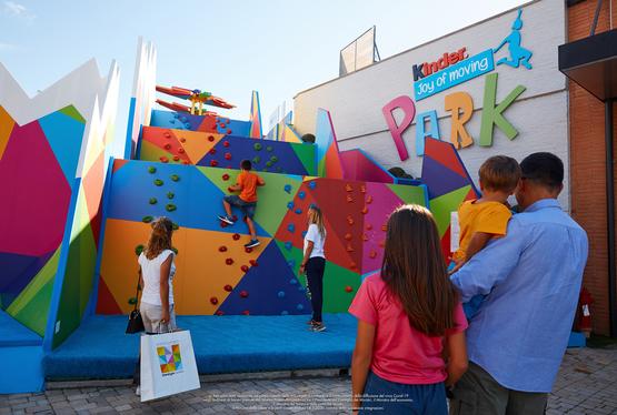"""Kinder Joy of moving Park"" con Ferrero"