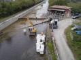 """La cura per il canale Cavour, il """"gigante"""" ferito dall'alluvione (photogallery)"""