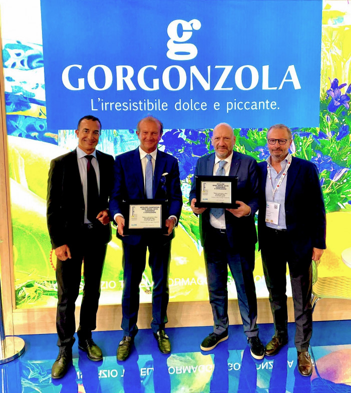 Gorgonzola protagonista a Cibus